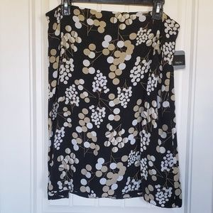 3 for $15 Mossimo A-line floral dot skirt